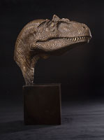 Allosaurus Sculpture by Christopher Darga