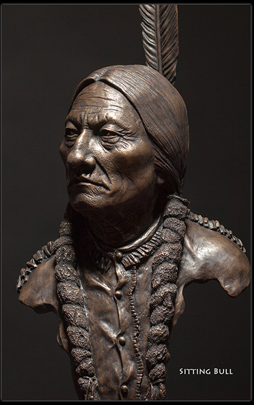 Sitting Bull by Christopher Darga
