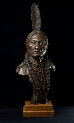 Sitting Bull Sculpture